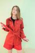 Рубашка Lady Smile 3001-3 красный