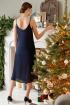 Платье Colors of PAPAYA 1503 темно-синий