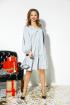 Платье Anastasia 523 серебро