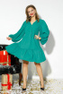 Платье Anastasia 523 изумруд