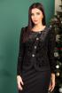 Платье SandyNa 13891 черный