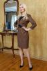 Платье Леди скок 189 кирпичный