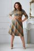 Платье Rumoda 2011 оранжево-серый