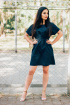 Платье SUNITSA М29 темно-синий
