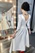 Платье MEDIUM 5245 молочный