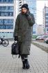 Пальто Lady Secret 8279 хаки