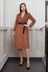 Платье Condra 4143 коричневый
