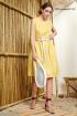 Платье NiV NiV 1565 желтый