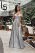 Платье Lady Lusso 03-19 сталь