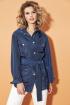 Рубашка DiLiaFashion 0452 синий