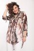 Блуза ELLETTO 3223 коричневый