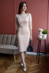 Платье Madech 185271 натуральный