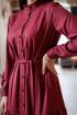 Платье KRASA 202-20 терракотовый