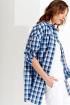 Рубашка Prestige 4053/2 серо-голубой