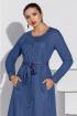 Платье Lissana 4190 джинс