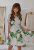 Платье PUR PUR 563/1 голубой