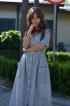 Платье PUR PUR 602 серый