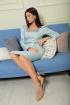 Платье SandyNa 13896 небесно-голубой