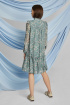Платье ELLETTO LIFE 1815 зеленый