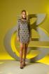 Платье Barbara Geratti by Elma 2775 беж/черный