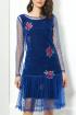 Платье AYZE 657 василёк