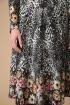 Платье Линия Л Б-1854 принт+цветы