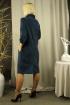 Платье Стильная леди М-207 синий