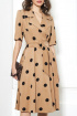 Платье AYZE 1513 т.бежевый