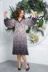Платье Anastasia 558 сине-пудровый