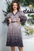 Платье,  Ремень Anastasia 558+ремень сине-пудровый