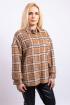 Рубашка Пинск Стиль 3953 коричневый