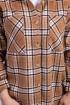 Рубашка Пинск Стиль 3956 коричневый