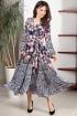 Платье Teffi Style L-1417 розовые_цветы