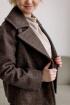 Пальто Ivera 637 коричневый