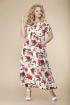 Платье Romanovich Style 1-1826 темный_хаки/цветы