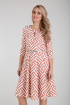 Платье Moda Versal П2275 зиг_заг_марсала