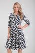 Платье Moda Versal П2275 зиг_заг_т.синий