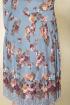 Платье DaLi 3376 серо-голубой