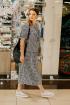 Платье TAiER 944 молочно-синий