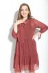Платье Michel chic 987 терракотовый