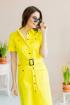 Платье Claire 2358 желтый