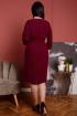 Платье Дорофея 583 бордовый