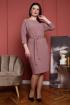 Платье Дорофея 583 розовато-серый