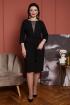 Платье Дорофея 583 черный