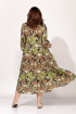 Платье ELLETTO 1823 зеленый