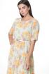 Платье Angelina & Сompany 514 желтый_цветы