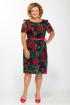 Платье Tellura-L 1404 розы