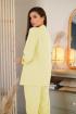 Брюки,  Жакет LadisLine 1350 светло-лимонный