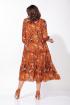 Платье ELLETTO 1823 терракотовый