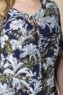 Платье Romanovich Style 1-2137 синий_принт